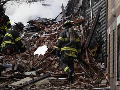 Những hinh ảnh mới nhất quanh hai tòa nhà New York phát nổ và cháy
