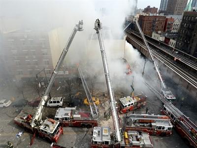 Vụ nổ nhà ở New York có thể là do khí ga