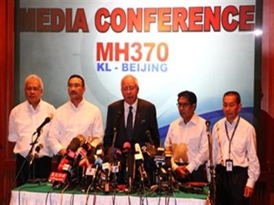 Thủ tướng Malaysia: Hành trình máy bay là có chủ đích