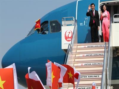 Chủ tịch nước trả lời báo chí Nhật về cảng Cam Ranh