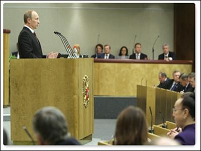 Tổng thống Putin phát biểu trước Quốc hội Nga
