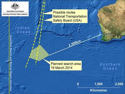 Australia có thể đã thấy dấu tích MH370