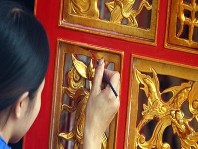 Kiêu Kỵ - Làng dát vàng bằng tay ở ngoại thành Hà Nội