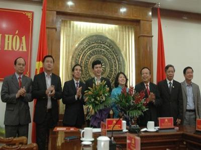Thanh Hóa có phó bí thư và phó chủ tịch mới