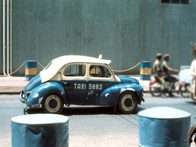Những hình ảnh độc đáo về taxi ở Sài Gòn những năm 60-70