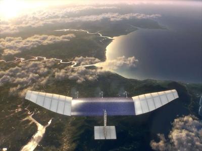 Facebook truyền Internet bằng máy bay robot và vệ tinh
