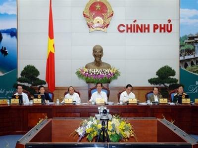 Chính phủ yêu cầu tích cực tăng tổng cầu đầu tư trong quý II/2014