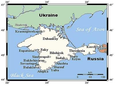 Nga sẽ xây đường ống dẫn gas tới Crimea