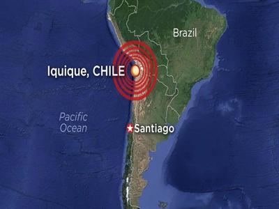 Dư chấn 7,8 độ richter tiếp tục ảnh hưởng tới miền bắc Chilê