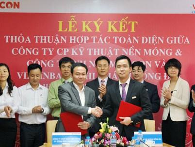 Fecon ký thỏa thuận hợp tác toàn diện với VietinBank Đống Đa