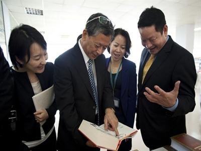 Đại sứ Nhật Bản tới đại bản doanh của FPT