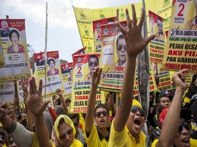 Mua phiếu bầu ở Indonesia