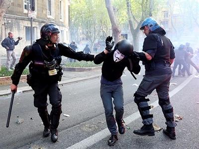 Italy: Thủ đô Rome tê liệt vì biểu tình chống chính phủ