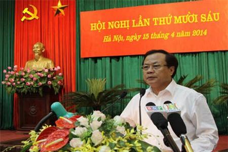 Số phó chủ tịch Hà Nội không vượt quy định