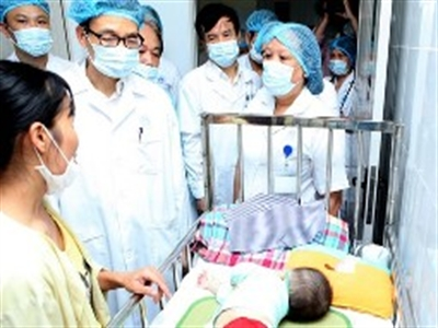 108 trẻ chết do sởi và biến chứng