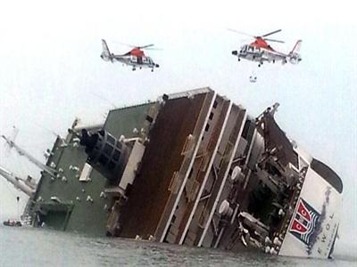 Chìm phà chở hơn 470 người ở Hàn Quốc