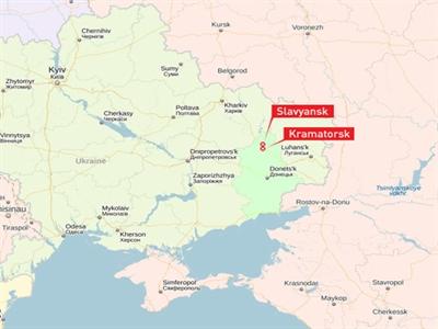 Lính dù Ukraine đổ bộ xuống thành phố miền Đông