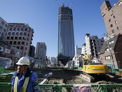 Kinh tế Nhật Bản suy yếu sau đợt tăng thuế tháng 4