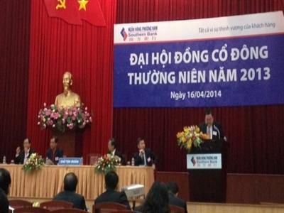ĐHCĐ Ngân hàng Phương Nam: đề nghị không kéo dài nhiệm kỳ HĐQT