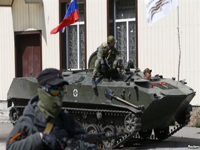 Ukraine mất kiểm soát miền Đông