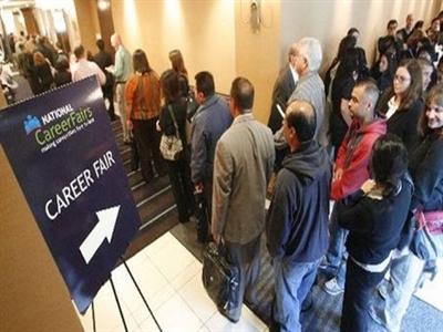 Tăng trưởng khả quan trên thị trường lao động Mỹ
