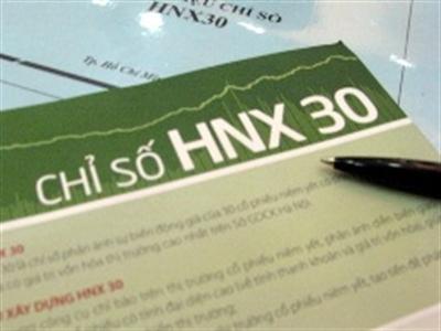 5 cổ phiếu rời nhóm HNX30 từ ngày 5/5/2014