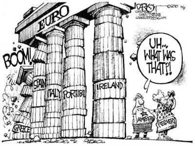 Hy Lạp dẫn đầu Eurozone về tỷ lệ nợ công