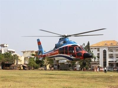 3 triệu đồng một giờ bay trực thăng khám phá động Phong Nha