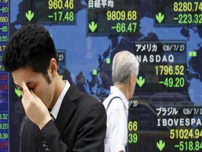 Chứng khoán châu Á giảm theo doanh số bán nhà mới của Mỹ