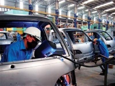 Chỉ số sản xuất công nghiệp tăng tốc, tồn kho nhích nhẹ
