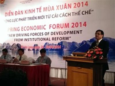 TS. Trần Đình Thiên: Cơ cấu tín dụng của Việt Nam hiện nay có