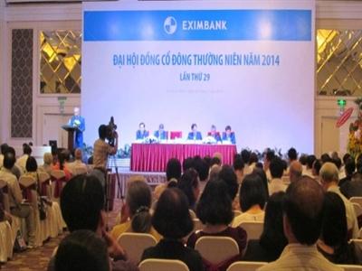Eximbank: Năm 2013 đã tất toán 340.000 lượng vàng