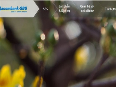 SacombankSBS chào UpCom: Giá tham chiếu 900 đồng đắt hay rẻ?