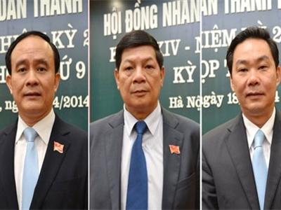 Thủ tướng phê chuẩn thêm 3 phó chủ tịch Hà Nội