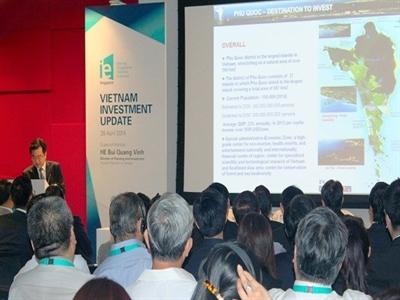 Việt Nam kêu gọi Singapore hỗ trợ xây dựng đảo Phú Quốc
