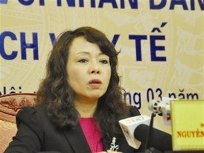 Bộ trưởng Bộ Y tế bật khóc: Tôi không nghĩ đến chuyện từ chức