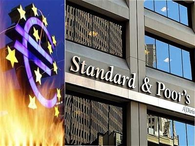Hàng loạt ngân hàng lớn của châu Âu bị hạ triển vọng xếp hạng tín nhiệm