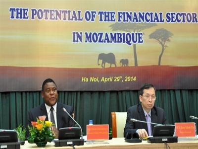 Mozambique muốn mời ngân hàng VN sang đầu tư