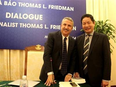 Đối thoại về 'Thế giới phẳng' với Friedman