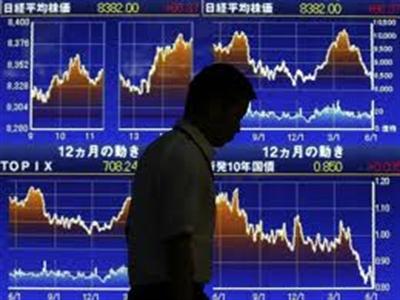 Chứng khoán châu Á giảm mạnh nhất trong 7 tuần