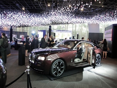 Rolls-Royce Motor Cars triển lãm lần đầu tại châu Á