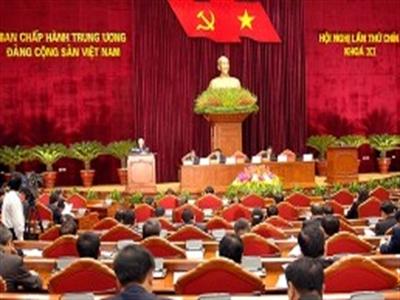 Khai mạc Hội nghị Trung ương Đảng lần thứ 9