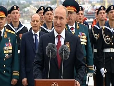 Tổng thống Nga đến Crimea