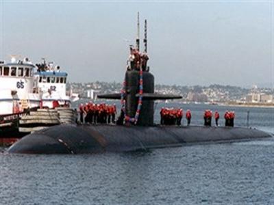 Tàu ngầm tấn công nhanh của Mỹ cập cảng Philippines