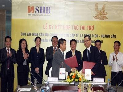 SHB rót 1.000 tỷ cho Tân Hoàng Minh