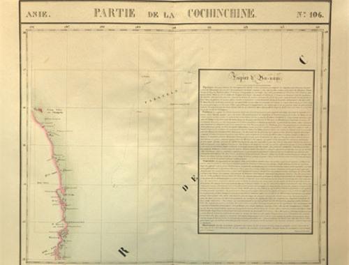Bản đồ châu Âu xuất bản năm 1827 minh chứng chủ quyền Việt Nam