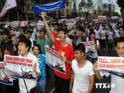 TP.HCM triệu đại diện Tổng lãnh sự Trung Quốc tới để phản đối