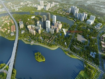 Sắp đầu tư xây dựng khu đô thị mới Nam hồ Linh Đàm