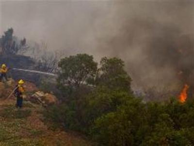 Cháy lớn tại nhiều khu vực ở California