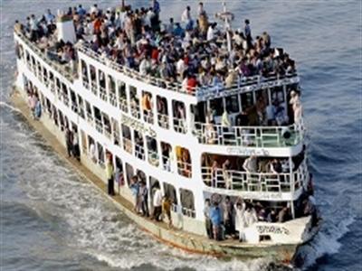 Đắm phà ở Bangladesh, hàng trăm người mất tích